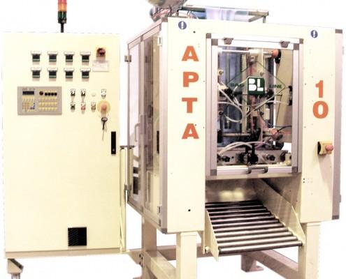 The Apta 10 is a FFS bagging machine for liquid
